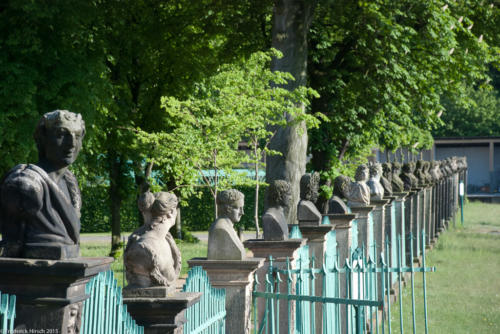Got heads? Sanssouci, Potsdam Germany