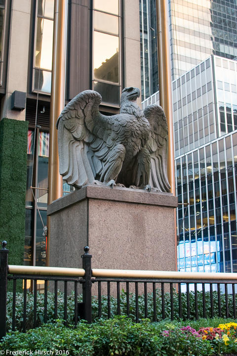 Original Penn Station Eagle